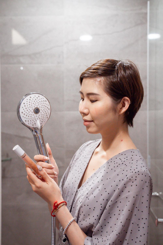凱撒衛浴玻尿酸美容花灑組-06942