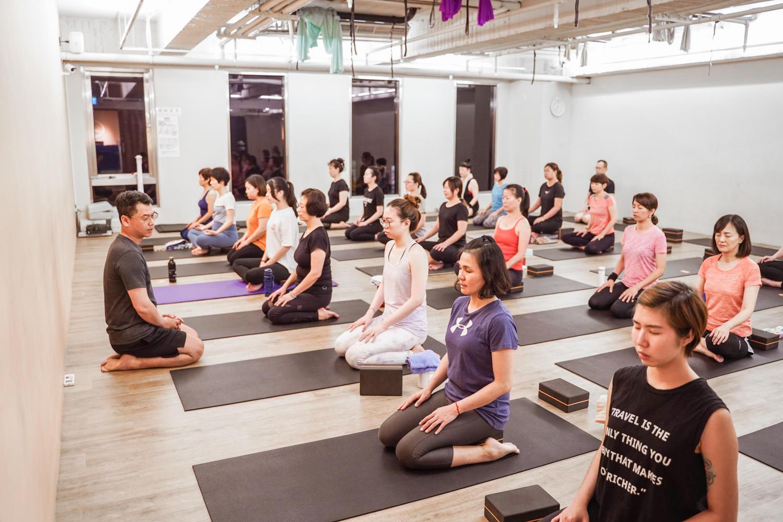 愛瑜珈 #2 瑜珈運動讓我更放鬆,把瑜珈帶入日常生活中。
